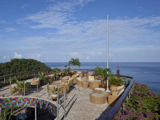 Jade Mountain Resort: Celestial Terrace at Jade Mountain