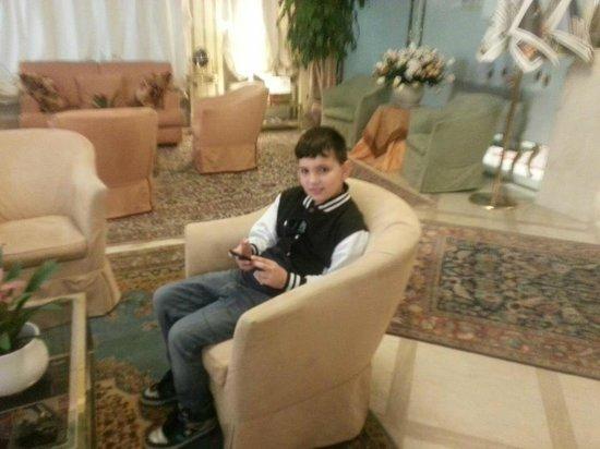 Hotel San Luca: la sala hall con wi-fi