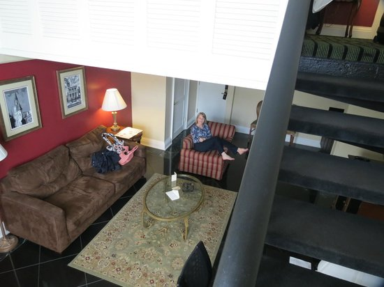 Bourbon Orleans Hotel : Suite from upstairs