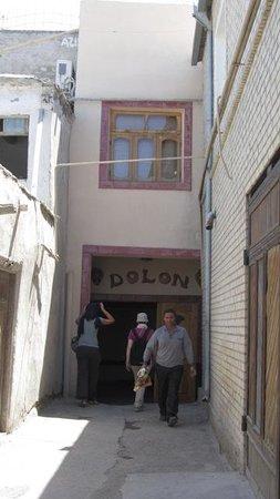 Dolon: L'ingresso