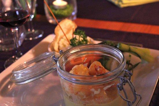 Restaurant Le Continental : Les gambas XXL