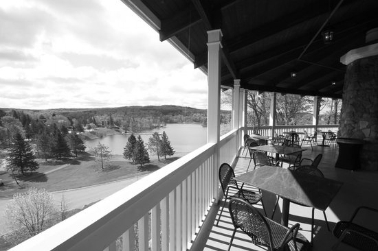 Deerhurst Resort: View from the balcony of the Eclipse Restaurant