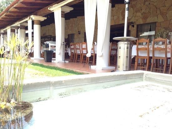 Restaurante Jardines De San Cristobal: El jardín de Sancris!!