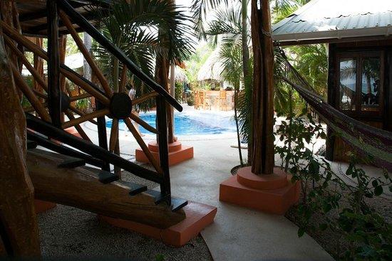 Samara Tree House Inn: het zwembad(je)