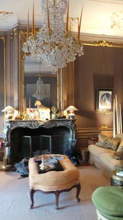 Chambres D'hotes Hotel Verhaegen : зал, где накрывали завтрак