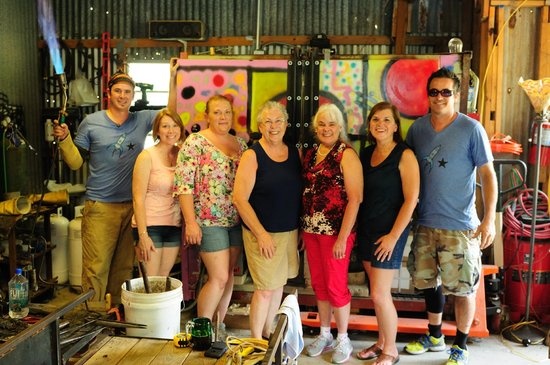 Salado Glassworks: Girls Trip!