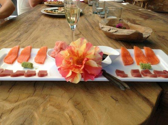 Can Sastre: Sashimi...ala Michi und John