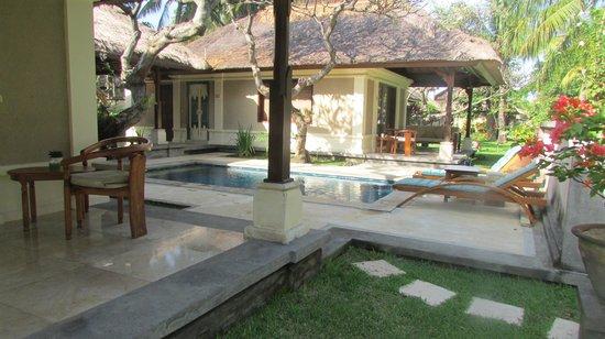 Puri Bagus Lovina: piscine privée