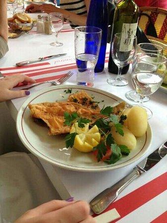 Brasserie Le Central : plaice