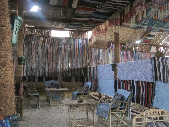 Nubian Palace Coffee Shop: guiet corner