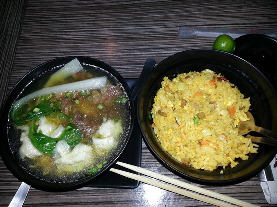Kowloon House: Wanton Noodles and Yangchow Rice