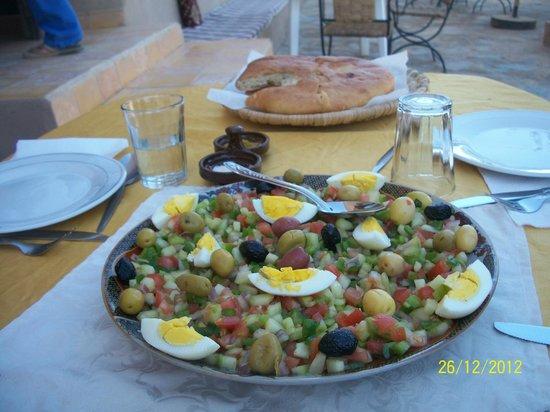 Auberge La Source: uno dei favolosi piatti