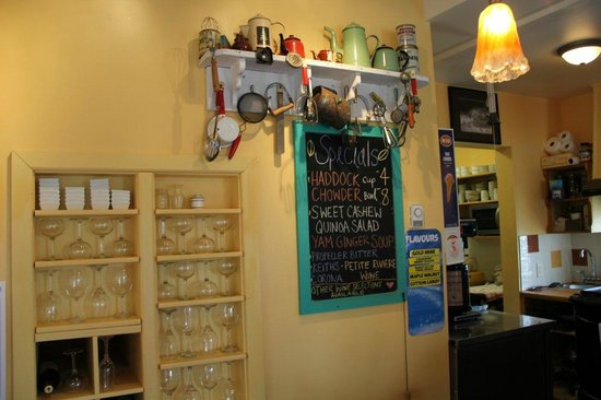 Best Coast Coffee Gallery : Menu items - Best Coast Coffee and Gallery - Broad Cove