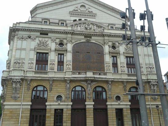 Teatro Arriaga Antzokia: lado trasero