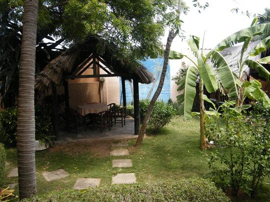 Hotel Aurore: The garden