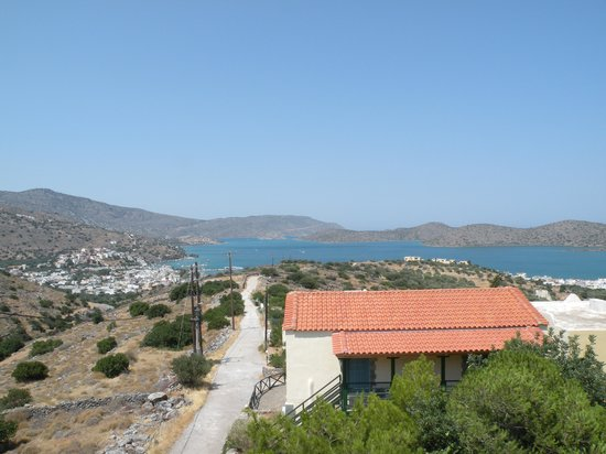 Elounda Residence: panorama dall'hotel