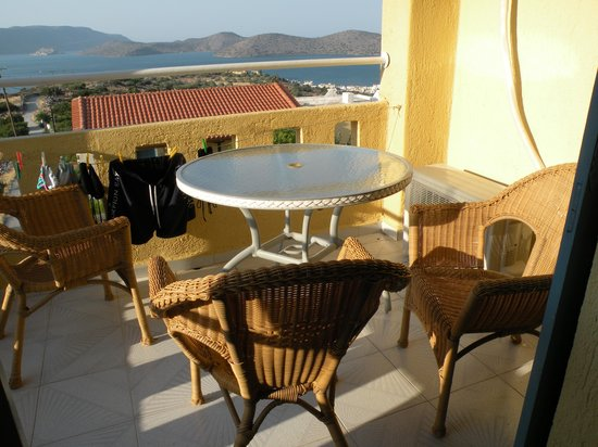 Elounda Water Park Residence: il balcone del residence