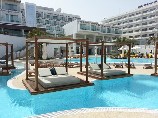 Pool Area Picture Of Sunrise Pearl Hotel Amp Spa Protaras