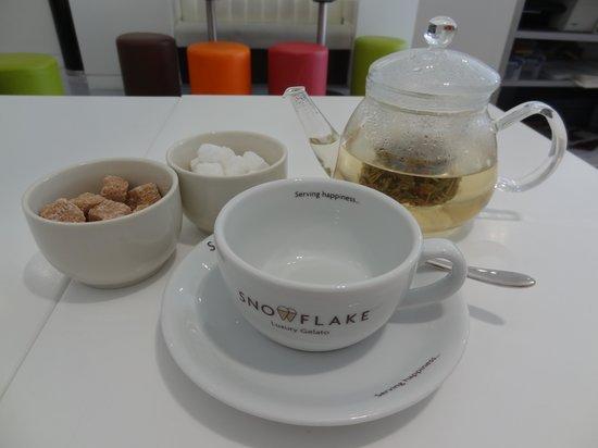 Snowflake Luxury Gelato: Tea