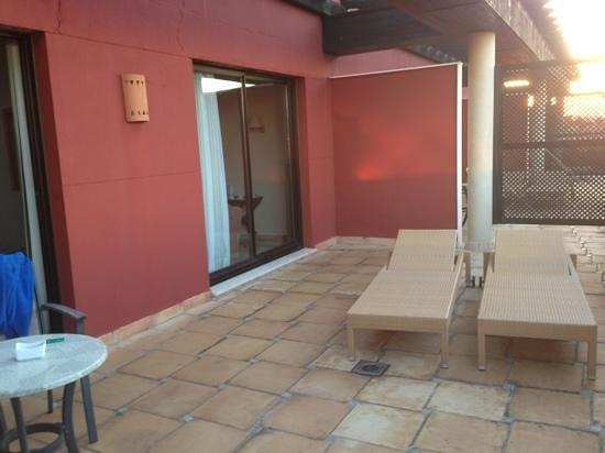 Barcelo Marbella: suite terrace