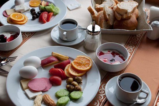 Hotel Peninsula : Turkish Breakfast at the Peninsula