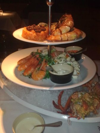 Grill Royal: Seafood Platter extraordinaire!