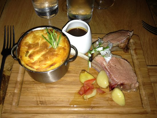 The Lime Tree Restaurant: Lamb with Shepherds pie
