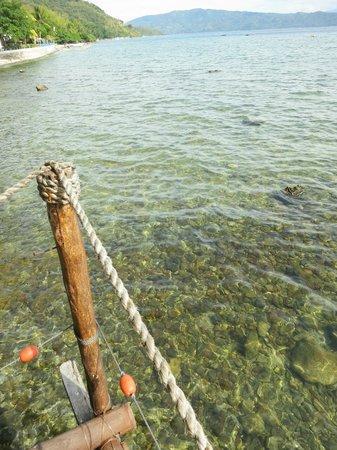 Casita Ysabel: Clear water but rocky