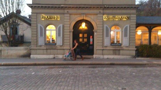 Brasserie Barengraben : street view