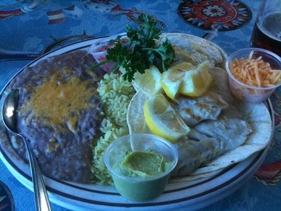 Barbara's Fishtrap: Fish Tacos