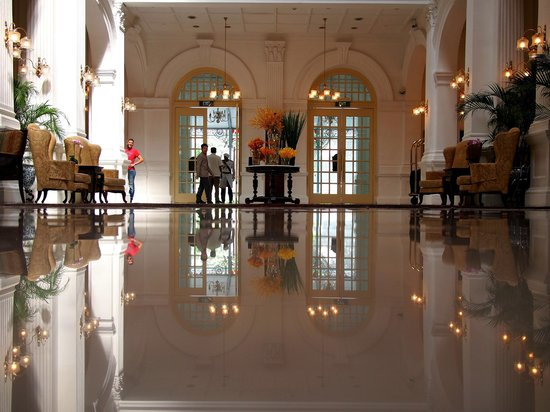 The Lobby Picture Of Raffles Hotel Singapore Singapore Tripadvisor