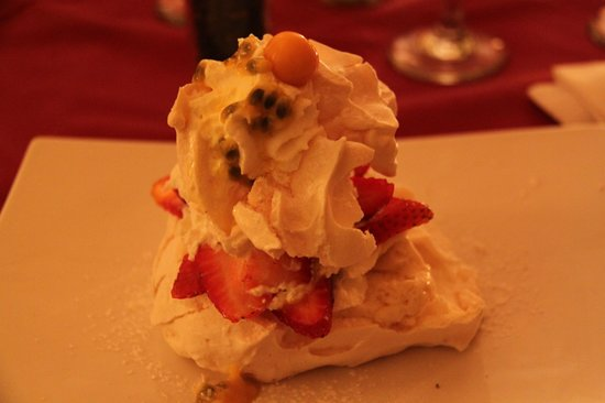 Powell House Restaurant : Eton Mess als dessert