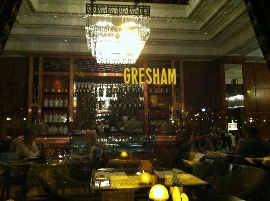 KOLLAZS - Brasserie & Bar: Outside view of Gresham Restaurant