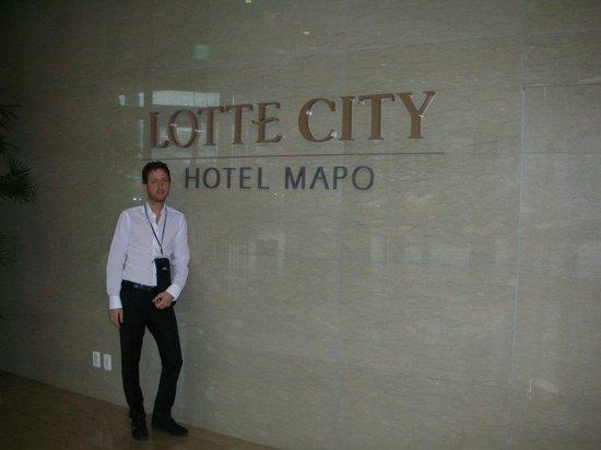 Lotte Hotel Seoul: ingresso