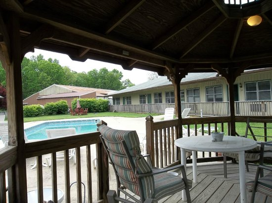 Bed and Breakfast at Penmerryl Farm: pool
