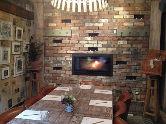Forgan's: one of the Bothy dining areas