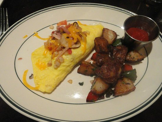 Westin Galleria Houston Hotel: O Tal omelete