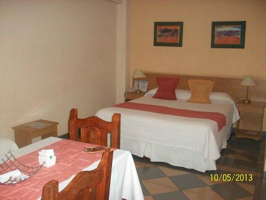 Apart Hotel Mirador de Salta: Muy buen gusto en la decoracion