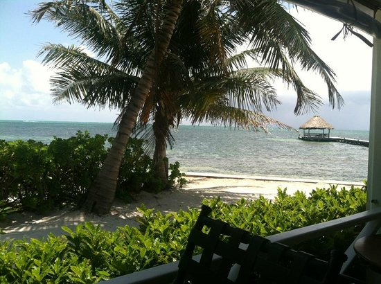 Palmilla Restaurant: View from Admiral Nelson's Bar Patio Seating
