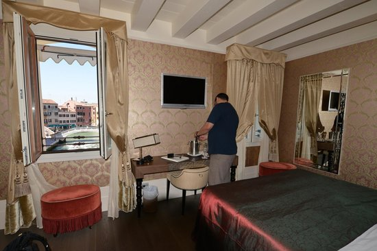 Hotel Moresco: We loved the view