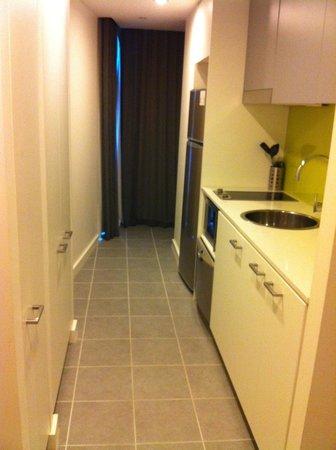 Citadines on Bourke Melbourne: One Bedroom Deluxe Kitchen, Feb 2013