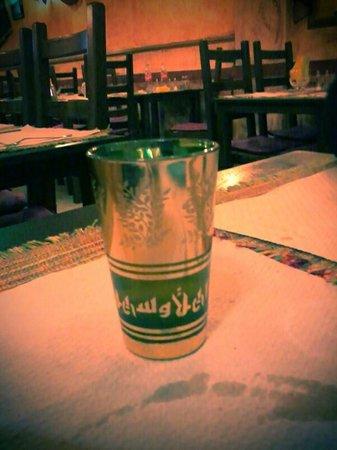 Alounak Restaurant : rico té de menta