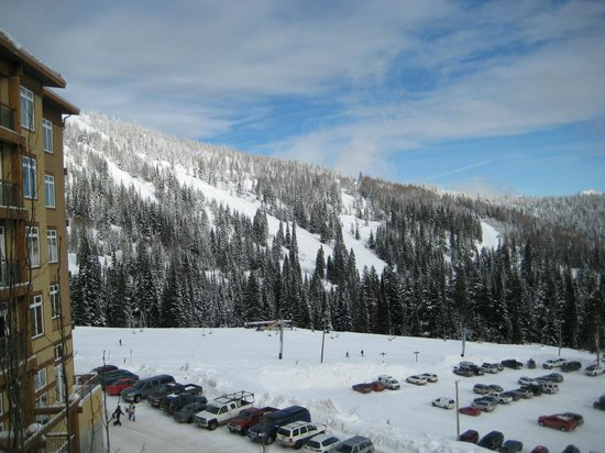 Schweitzer Mountain Resort Lodging: view from room