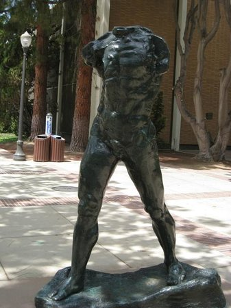 Franklin D. Murphy Sculpture Garden : Auguste Rodin - 1905 The Walking Man