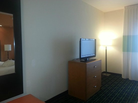 Fairfield Inn & Suites Laramie: tv2