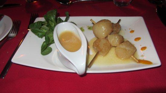 Arii Vahine Restaurant : Scallops