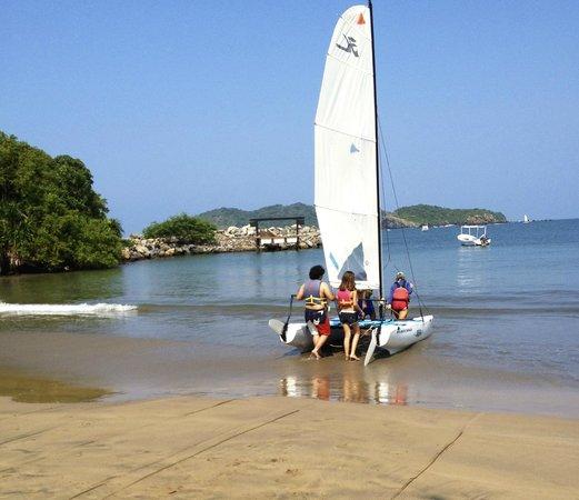 Club Med Ixtapa Pacific : Clases de velero