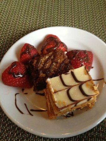 Jaffa at the Oval: Dessert
