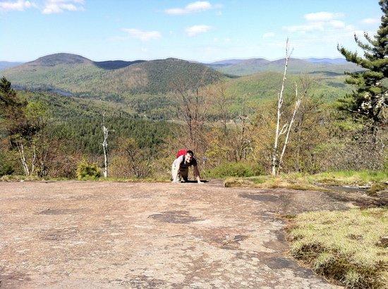 Orenda: Bouldering up nearby Crane Mtn.