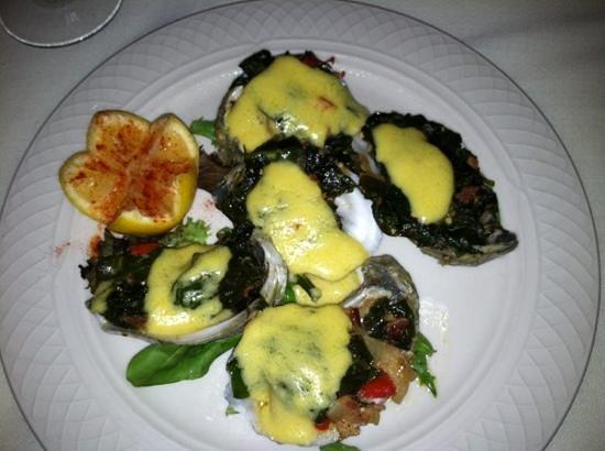 Laury's Restaurant: Oysters Rockefeller